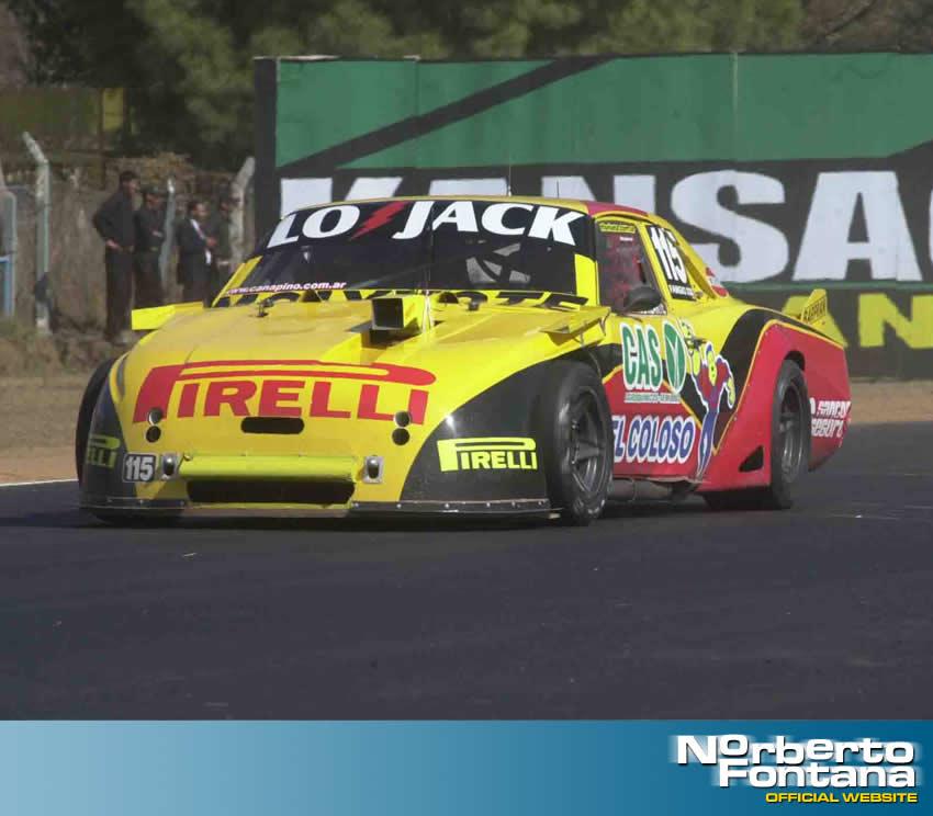 En Salta llegué por primera vez al final de una carrera de TC - Norberto Fontana formula 1