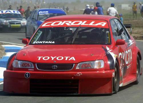 En TC 2000 pude ganar en la primer carrera deli año en San Luis.